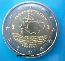 Portugal 2 Euro Gedenkmünze 2011 Pinto commemorative coin Euromünze bankfrisch