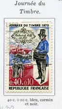 STAMP / TIMBRE FRANCE OBLITERE N° 1632 JOURNEE DU TIMBRE 1970
