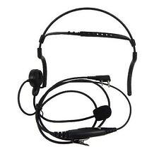 2-PIN Headphone Headset for Kenwood Puxing WEIERWEI Wouxun Baofeng with boom mic