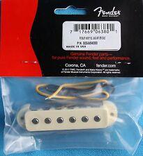Fender Single Coil Bridge Pickup Assembly for '62 Jaguar, White, MPN 0054494000