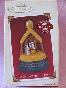 Hallmark Souvenir Noël Ornement Le Voyage De The Rois-Mages 2005 Neuf avec Boîte