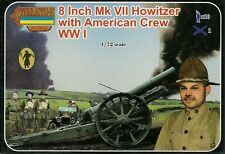 """Strelets 1/72 (20mm) WWI US 8"""" Mk VII Howitzer with Crew"""
