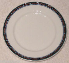 ❤ Dudson Fine China Stoke on Trent England 2 Bread Butter Plates Mosaic Pattern❤