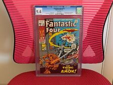 Fantastic Four #111 CGC 9.4 White Pages Hulk Peter Parker Joe Robertson