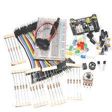 Beginners Electronic Starter Kit including projects & components with MAINS PSU