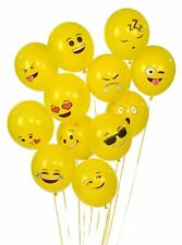 Emoji Latex Balloons 72 Pack of Smiley Face Universe Series One FAST s&h