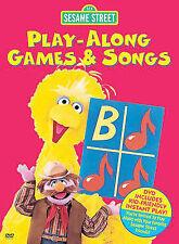 SESAME STREET:PLAY ALONG GAMES & SONG  DVD