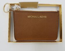 Michael Kors NEW Giftables  Leather  Purse Wallet Keyring  In Gold Gift Boxed