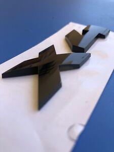 Logo X4 M Black Pack Competition Exclusive Original F26 G02 Badge 51142472834