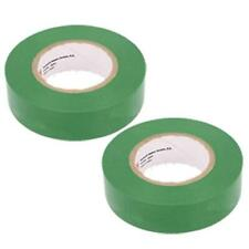 Plymouth Colored Vinyl Weather Resistant Electrical Tape 34 X 60 Green 2 Pack