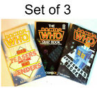 1970s-1980s Doctor Who Crossword, Puzzle & Quiz TARGET Doctor Who Book Set of 3