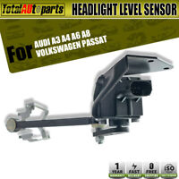 W/ Bracket Headlight Level Sensor for Audi Volkswagen A3 A6 TT Passat 4B0907503