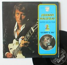 "Vinyle 33T Johnny Hallyday  ""Les coups - Mal"""