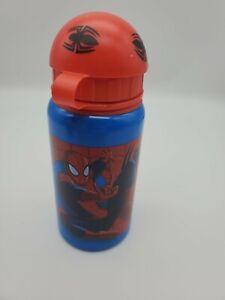 spiderman water bottle metallic tumbler baby bottle sippy cup marvel disney new