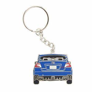 OEM Subaru STi Stainless Steel Metal Keychain Key Holder Key Ring SOA342L159