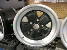 Porsche Fuchs Wheel 16 x 7 - NEW  ET 23.3  Matte Black Finish