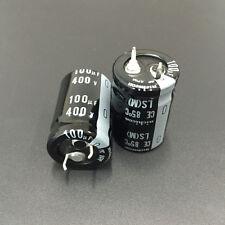 2pcs 400V100uF 400V 20x30mm Japan Nichicon LS Snap-in Capacitor