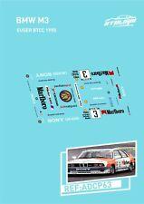 CALCAS BMW M3 EUSER BTCC 1990 SLOT DECALS