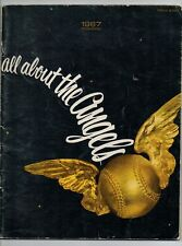"""1967 LOS ANGELES California ANGELS Yearbook """"All About The Angels"""""""