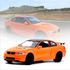 BMW M3 GTS Model Cars 1:32 Toys Sound&Light Alloy Diecast Collection&Gift Orange