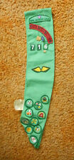 VINTAGE GIRL SCOUT SASH SEVEN LAKES COUNCIL 716