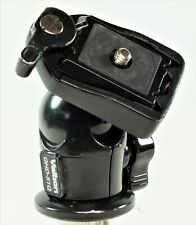 Velbon QHD-51Q Ball & Socket Head With Detachable Plate. Good Working Order.