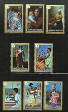 International Women's Year set of 8 mnh stamps 1975 Rwanda Sc #665-72