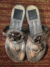 Tory Burch Miller Flip Flop Sandals Size 7.5 M