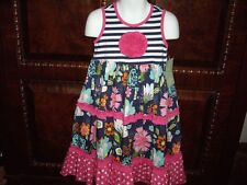NWT Girls Size 4 Sage & Lilly Sleeveless Summer Dress Beautiful