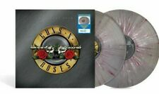 "GUNS N' ROSES GREATEST HITS SILVER SPLATTER VINYL 12"" 2x LP LIMITED EDITION RARE"