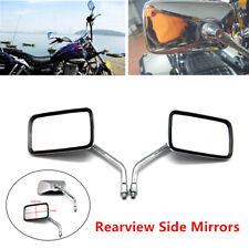 Rearview Side Mirrors Adjust Fit for Honda Shadow VT VT1100 VT600 VF750 Magna750