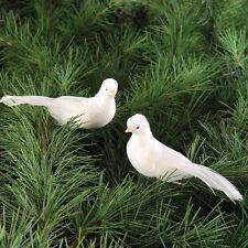 Dove Clip-on Ornament, Assortment of 2, Christmas, Wedding,CF66142