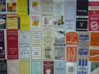 65 CIRCA1930s/1940s/1950s MATCHBOOKS EARLIER ALL PHOTOGRAPHED *TAKE YOUR PICK* 2