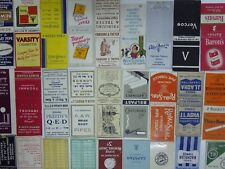 77 CIRCA1930s/1940s/1950s MATCHBOOKS EARLIER ALL PHOTOGRAPHED *TAKE YOUR PICK* 2