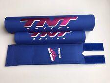 TNT Bmx Pad Set Blue Oldschool REPOP Tange Koizumi  PK Ripper Kuwahara
