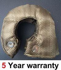 T3 Titanio Basalto Turbo Manta Calor Escudo térmico Wrap encaja Garret md321t Ect