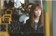 HUMANS* EMILY BERRINGTON 'NISKA' SIGNED 6x4 ACTION PHOTO+COA