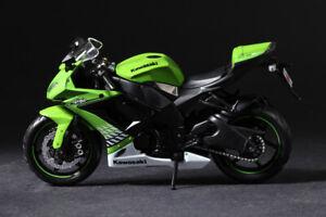 Maisto Kawasaki Ninja ZX-10R Green Motorcycles 1/12 Diecast Model