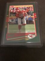 2020 Donruss Patrick Mahomes Press Proof Green Photo Variant - RARE! Chiefs!