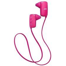 JVC HAF250BTPE Gumy Sports Bluetooth In Ear Headphones - Pink