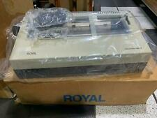 Royal OfficeMaster 2000 daisy wheel printer NEW IN BOX! - 1980s - retro vintage