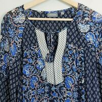 [ SUSSAN ] Womens Floral Print Blouse Top | Size AU 12 or US 8