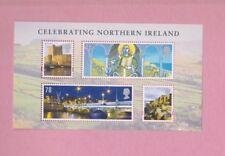 Gran Bretaña, 2008 sgni 152, celebrando Irlanda del Norte, Mini hoja de menta