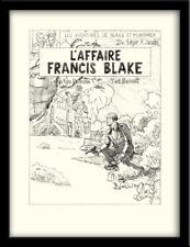 Ted BENOIT AFFICHE SIGNÉE BLAKE ET MORTIMER L'AFFAIRE FRANCIS BLAKE-333 ex. n°/s