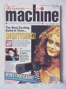 30822 Issue TX:021 The Games Machine Magazine 1989