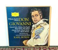 Mozart - Don Giovanni, Birgit Nilsson, Dietrich Fischer-Dieskau 4 x LP Box 1982