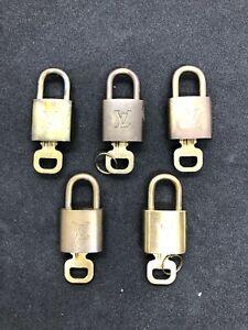 Louis Vuitton padlock five set Used (5219B