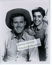 James Arness Gunsmoke  Chuck Connors  Johnny Crawford The RIfleman Photo #2