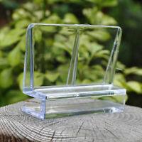4x Aquarium Clip Halter Halterung Klemme für Glas Abdeckung Acryl. R8U1