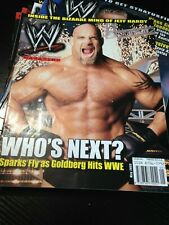 WWF WWE Magazine MAY 2003 Goldberg + Poster